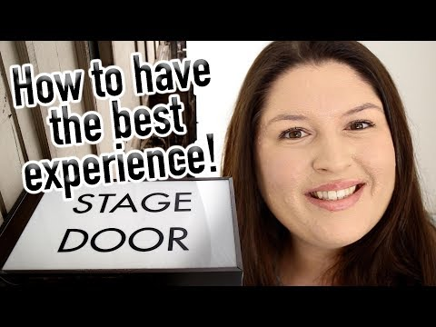 Tips for STAGE DOOR Beginners 🎭