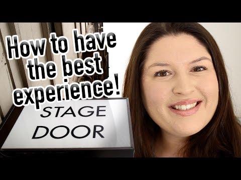Tips for STAGE DOOR Beginners 🎭