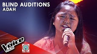 Akin Ka Na Lang by Adah Leosala | The Voice Kids Philippines Blind Auditions 2019