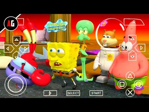 [16 MB] SpongeBob SquarePants Game In Android Download || Highly Compressed || 3D Game