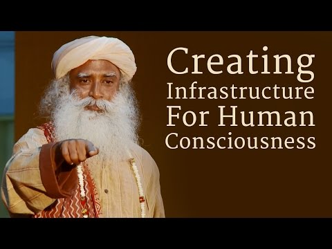 Creating Infrastructure For Human Consciousness - Sadhguru at IIT Madras
