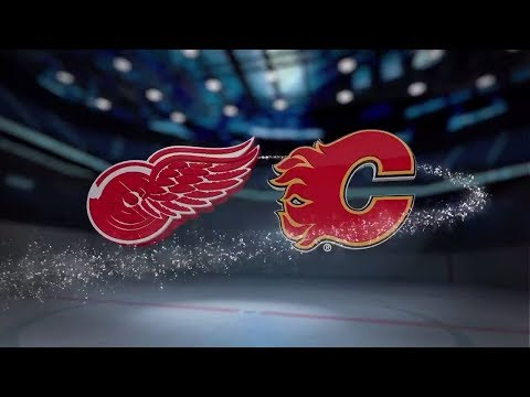 Detroit Red Wings vs Calgary Flames - November 09, 2017 | Game Highlights | NHL 2017/18. Обзор матча