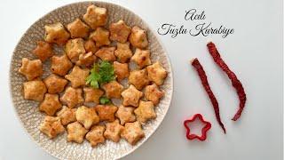 Acılı Tuzlu Kurabiye - Pratik Tarifler / Kurabiye Tarifleri / Yemek Tarifleri - Melis'in Mutfağı