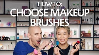How To: Choose Complexion Makeup Brushes | Sephora