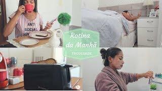 ROTINA DA MANHÃ - FACULDADE l Ariel Martins