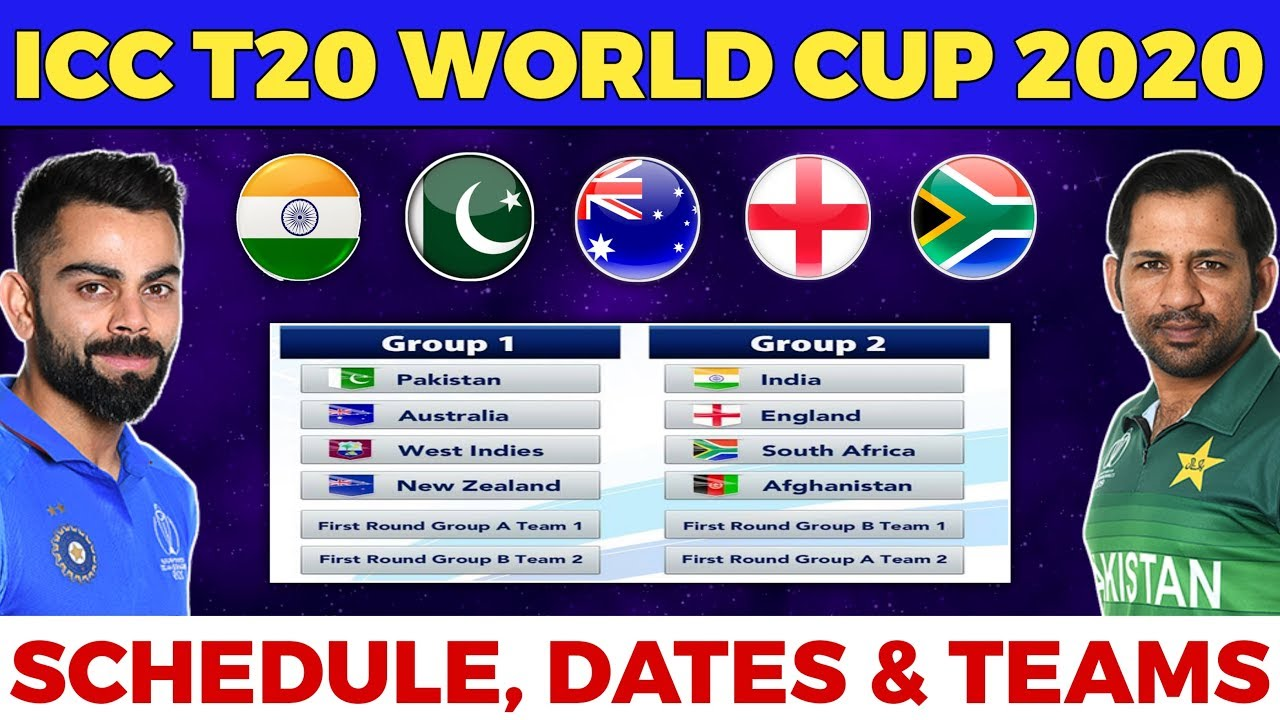 Next T20 World Cup 2020.Icc T20 World Cup 2020 Full Schedule Teams Venues Hosting Details