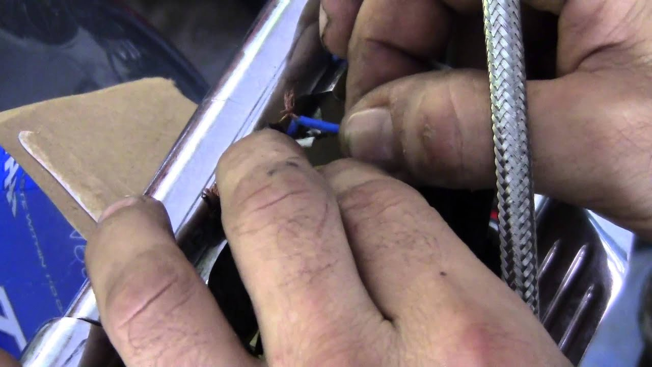 Harley Davidson Wire Harness Repair Youtube Fxd Wiring