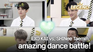Exo Kai Vs. Shinee Taemin, Amazing Dance Battle! [happy