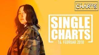 TOP 20 SINGLE CHARTS - 16. FEBRUAR 2018
