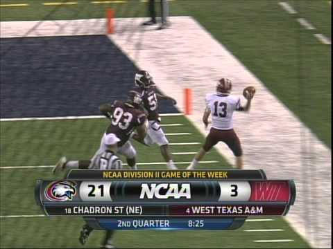 2013 RMAC Football Chadron State Vs West Texas Au0026M   YouTube Part 98