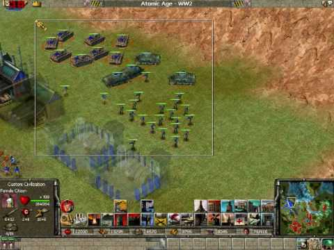 Empire Earth Gameplay 1 Part 1 Of 2 Youtube