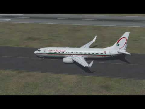 Flight from Marrakech to Conakry (royal air maroc)