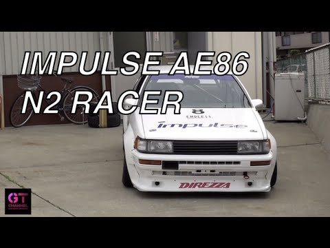 Impulse N2 Toyota Corolla Levin 86 Race Car Feature