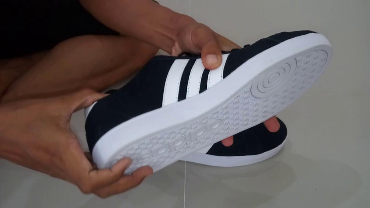Harga Jual Sepatu Adidas Neo Baseline V2 Original Indonesia Sneaker Vl Court Skate Suede Men Core Black List White Bnwb