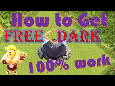 How to Get Free DARK ELIXIR and elixir in (Hindi)