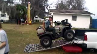 Park Ranger unload Atv.3gp