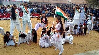 Independent Day School Girl Dances Chak de India Songs