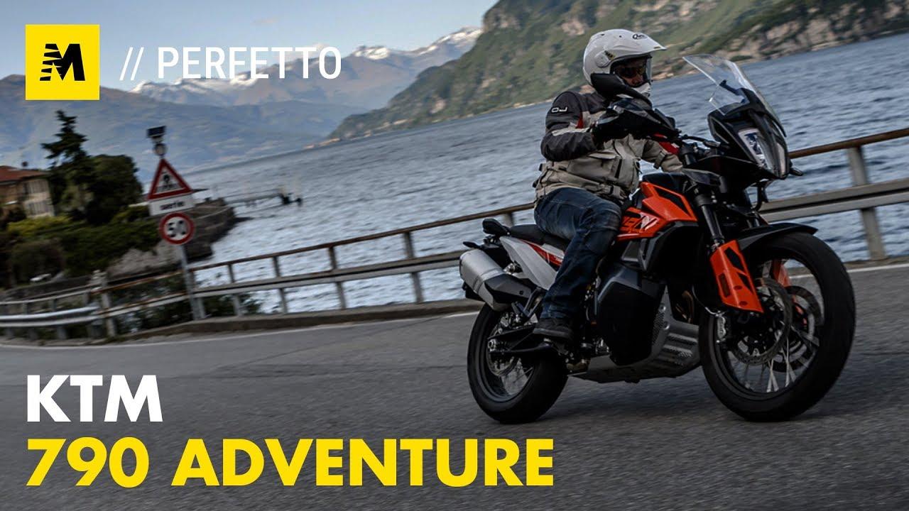 KTM 790 Adventure. TEST: come va in città e nel misto. 1a Parte [English sub.]