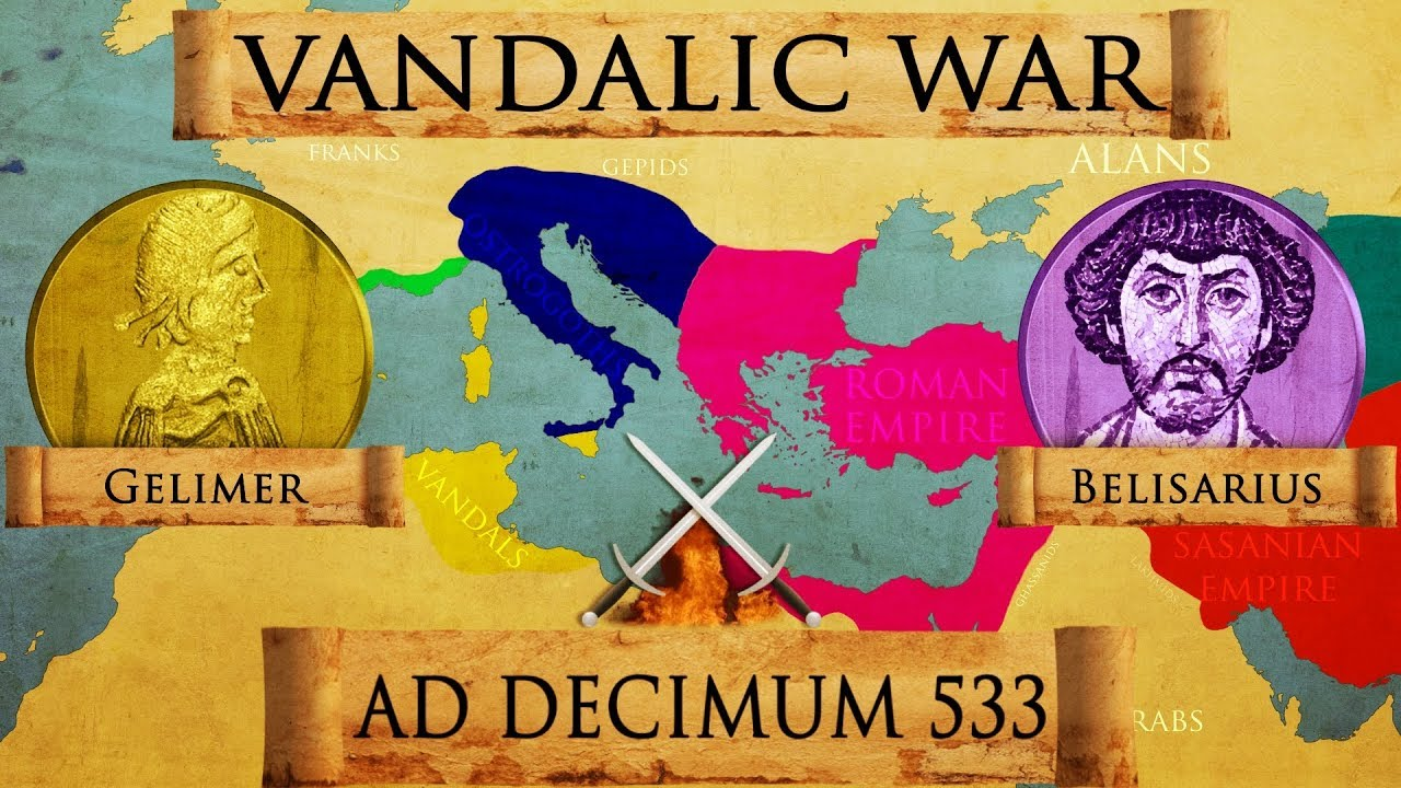 Download Battle of Ad Decimum 533 Roman - Vandalic War DOCUMENTARY