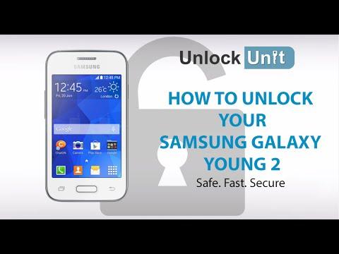 UNLOCK SAMSUNG GALAXY YOUNG 2 - HOW TO UNLOCK YOUR SAMSUNG GALAXY