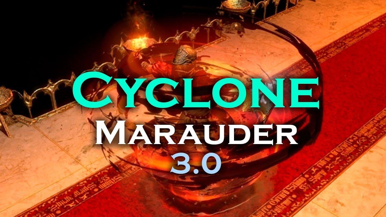 Cyclone Build Poe