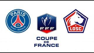 ПСЖ Лилль прямой эфир смотреть онлайн 17 03 2021 Кубок Франции прямая трансляция PSG vs Lille live