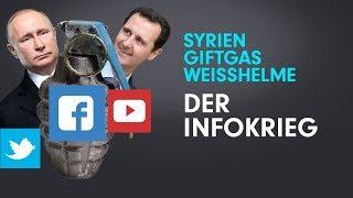 Der Infokrieg um Giftgas, Syrien und die Weißhelme – Abenteuer in Dummland #6c