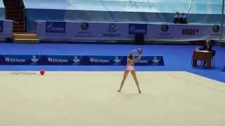 Сватковская Дарья, мяч, Первенство России по гимнастике г.Казань 2014