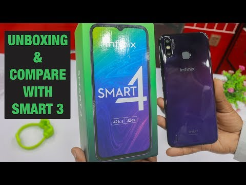 Infinix Smart 4 Unboxing in Pakistan | Price in PKR | Compare with Infinix Smart 3