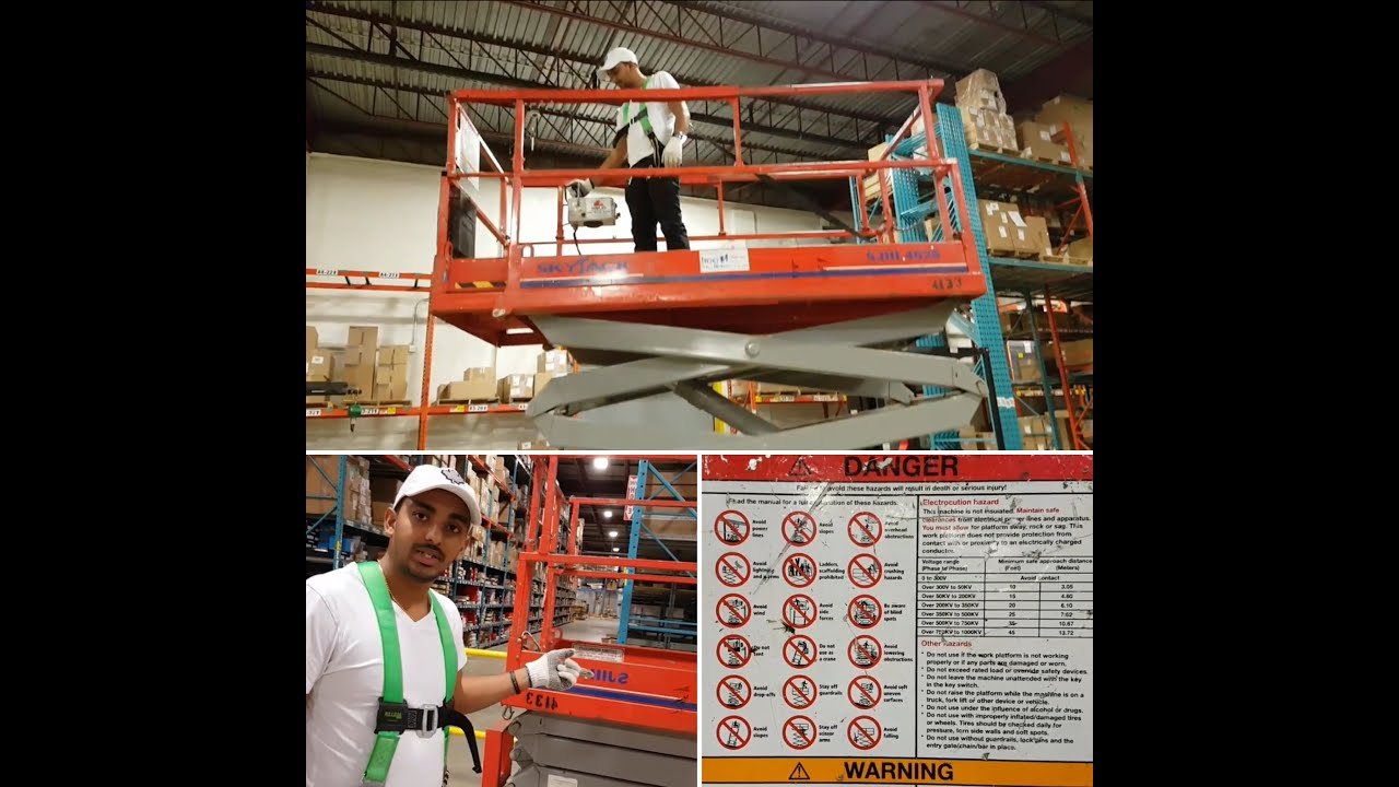 medium resolution of sky jack how to operate a scissor lift