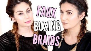 Makkelijke FAUX BOXING BRAIDS DIY - tutorial