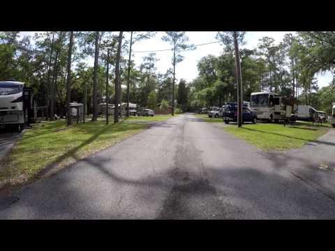 Stroll thru Camper's Holiday Travel Park - RV Vacation