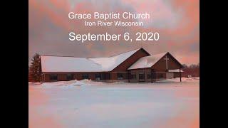 Grace Baptist Church Iron River Wi Sept 6 2020