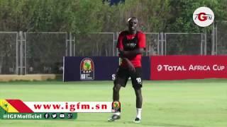 Entraînement des Lions : Sadio mané gardien de but
