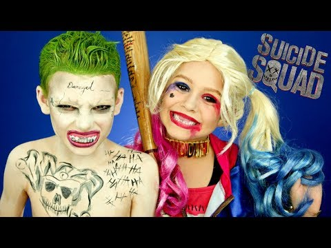 Harley Quinn and Joker Suicide Squad...