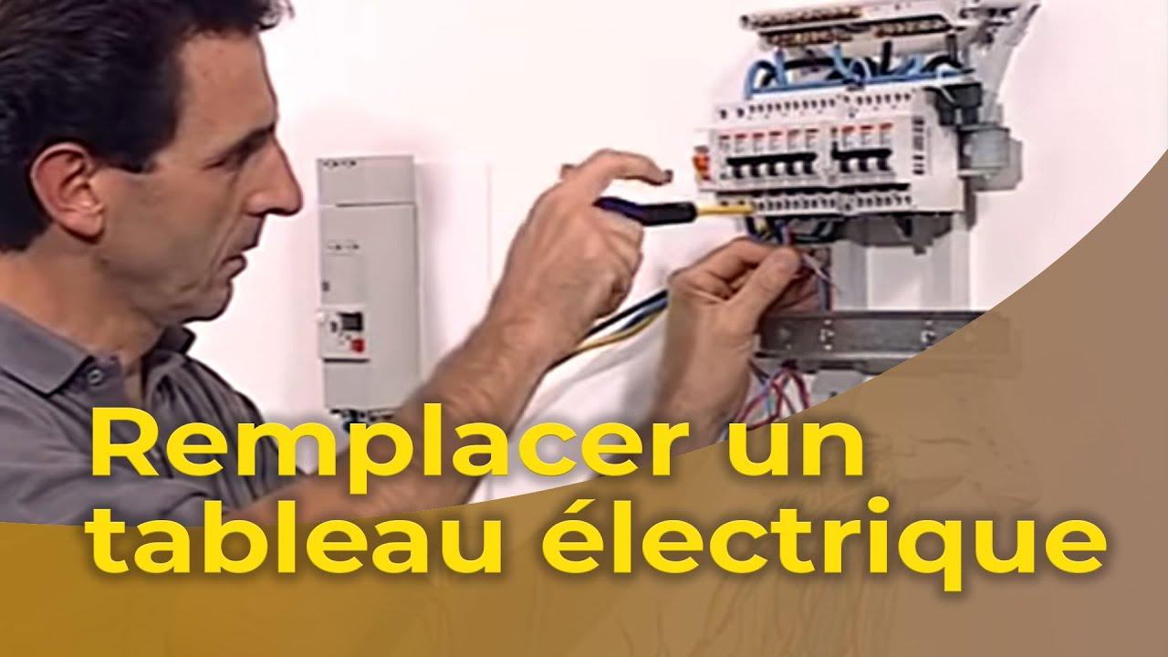 Remplacer un tableau électrique #1