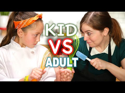 Kid MasterChef vs Adult Tasty Chef  Tasty