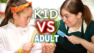 Kid MasterChef vs Adult Tasty Chef