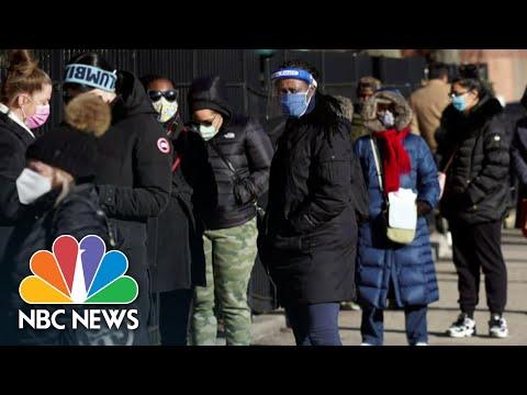 Texas Threatens To Slash Covid Vaccines Doses Over County's Plan | NBC Nightly News - NBC News