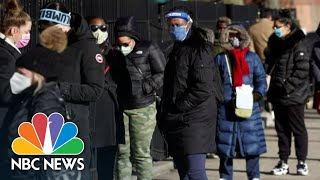 Texas Threatens To Slash Covid Vaccines Doses Over County's Plan | NBC Nightly News