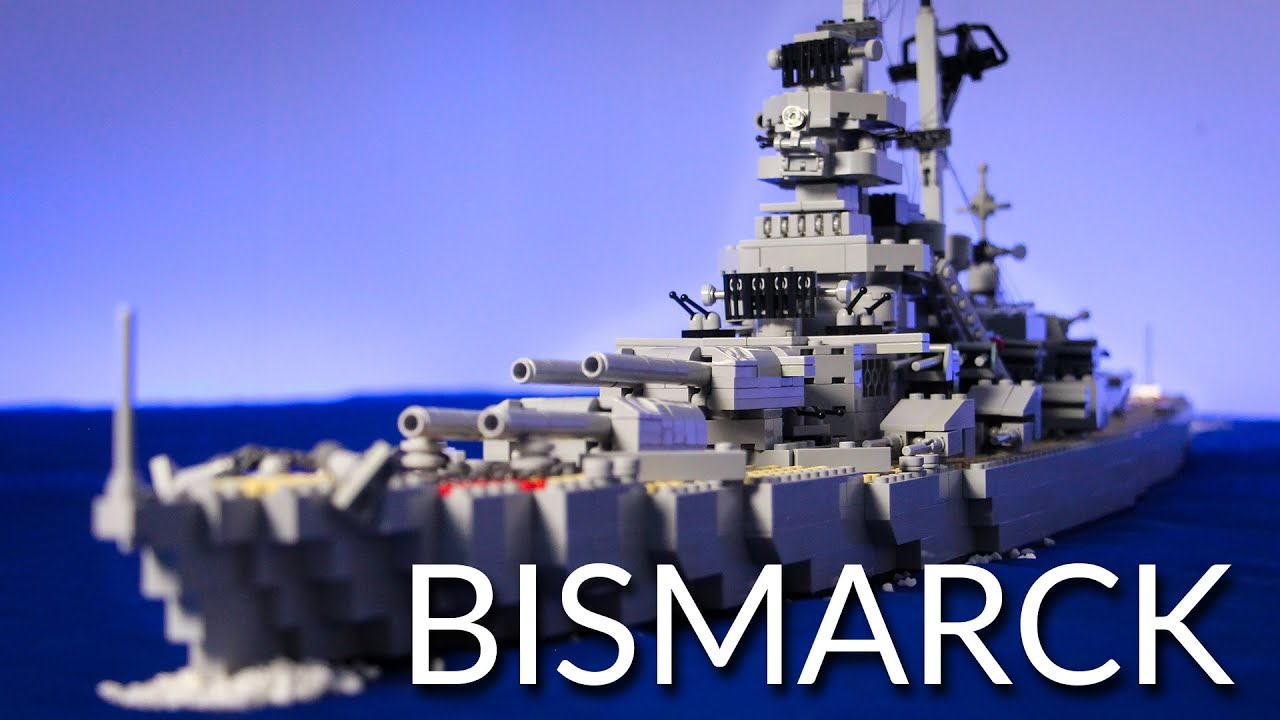 Lego Bismarck Youtube