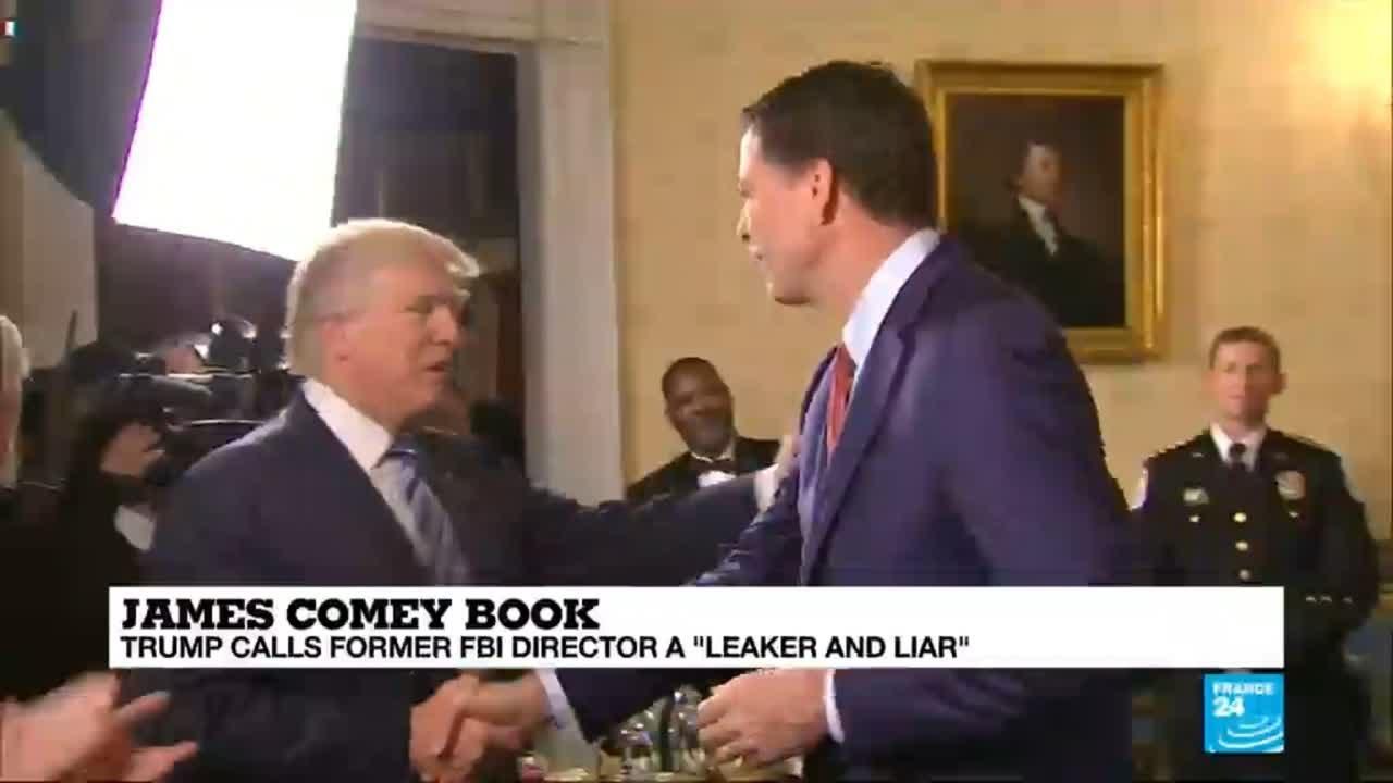 فرانس 24:James Comey's book: What could be the political and legal impact on Trump's Presidency?