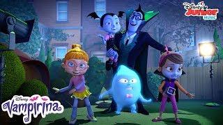 Monster Movie Magic Music Video | Vampirina | Disney Junior