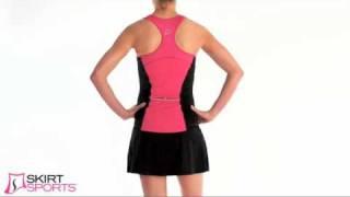 Skirt Sport Sexy Back Tank