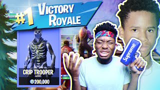 Playing Fortnite WITH A Crip Member... WILDEST DUOS GAME ON EARTH!