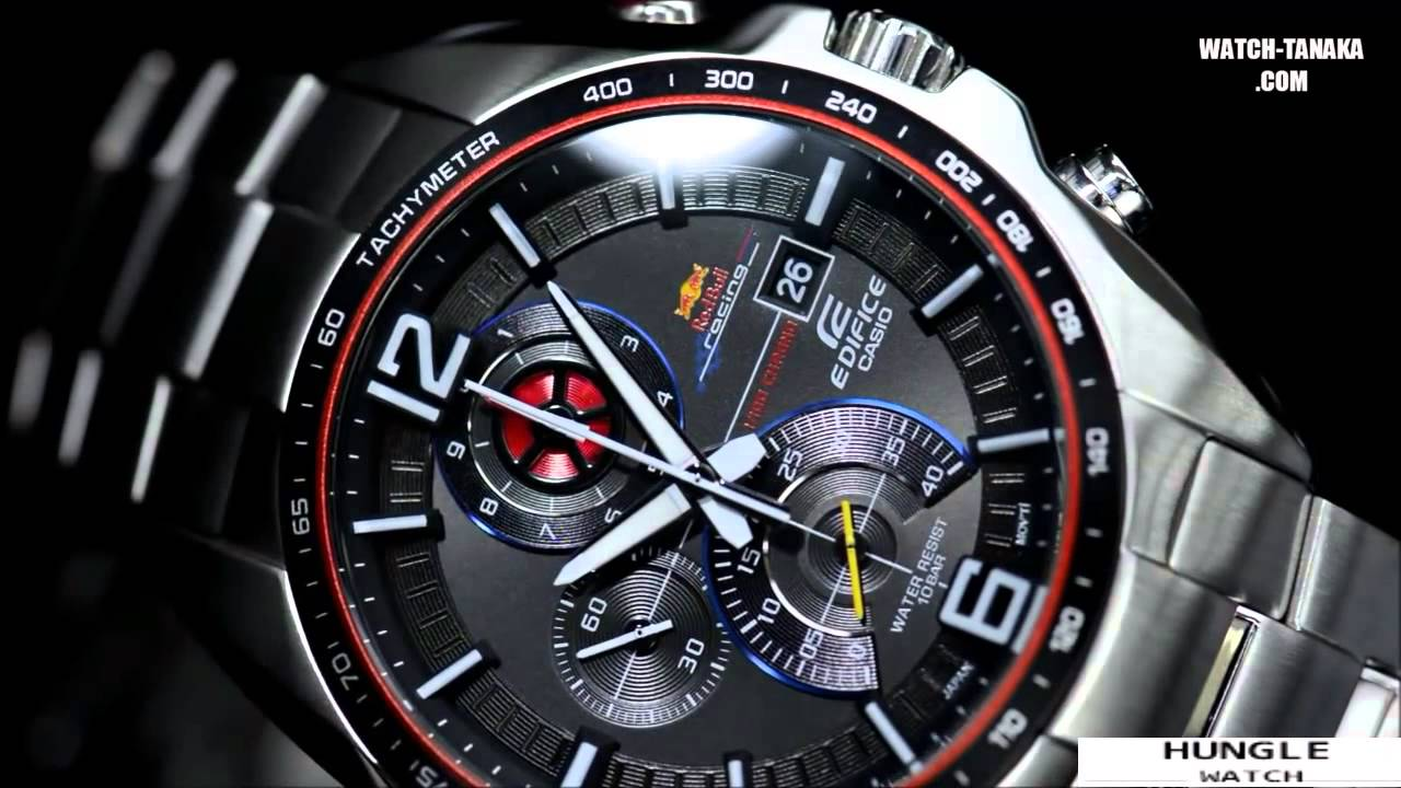 4ccb561b7bc8 CASIO EDIFICE Red Bull F1 Racing LIMITED EDITION 2013 EFR 528RB 1AJR -  YouTube