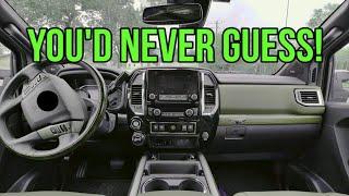 NICEST TRUCK INTERIOR! In the new 2020 Nissan Titan XD Platinum Reserve!