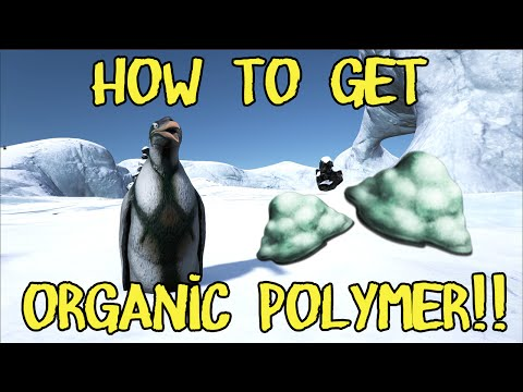 How to get Organic Polymer in ARK: Survival Evolved