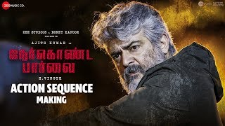 Nerkonda Paarvai - Action Sequence - Making Video | Ajith Kumar | Yuvan Shankar Raja | Boney Kapoor