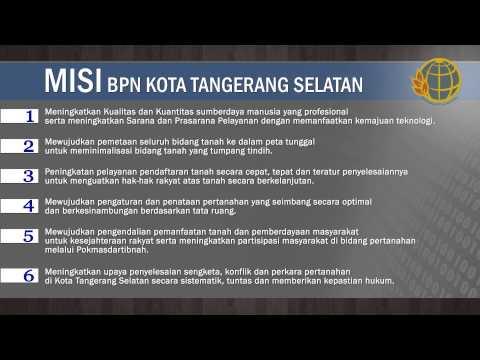 Profile BPN Kota Tangerang Selatan